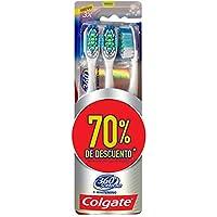 3 piezas de Cepillo Dental Colgate 360 Surround