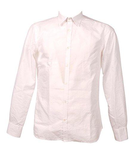Aglini Chemise Blanc Davidf816230 V4rxqc7wna Homme Coton qq0nwp1t