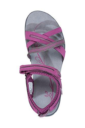 Tongs Rose Dames Mountain Occasionnels Pantoufles été Voyager légers Summertime résistant Warehouse Womens Chaussures Sandales Respirant pour ppxF7aZq