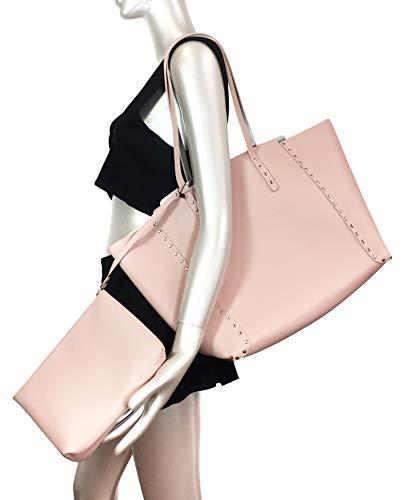 6000 à Shopper 304 réversible Zara clous Femme wWg1X01PqS