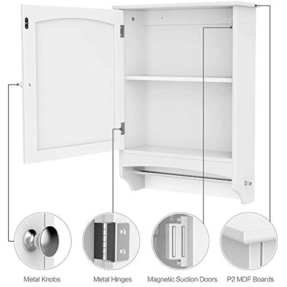 Bathroom Accessories Medicine Cabinet, Hanging Storage ...
