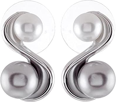 Elegante Ohrringe Silber Farbig Außergewöhnliche Ohrringe