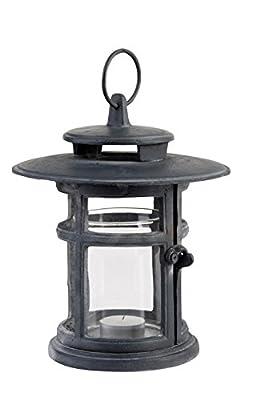 Esschert Design USA WL26 Victorian Round Cast Iron Lantern
