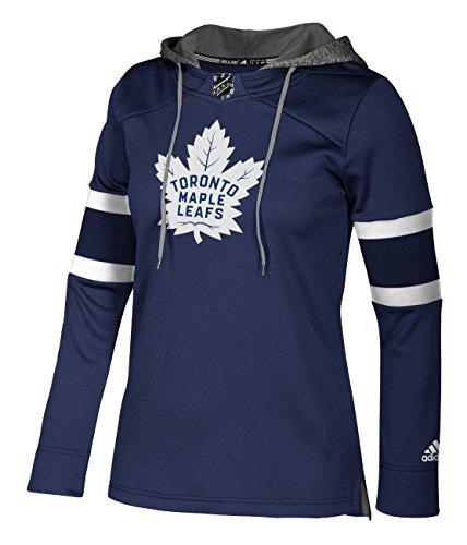 adidas NHL Toronto Maple Leafs Authentic Crewdie Jersey, Dark Blue, Small