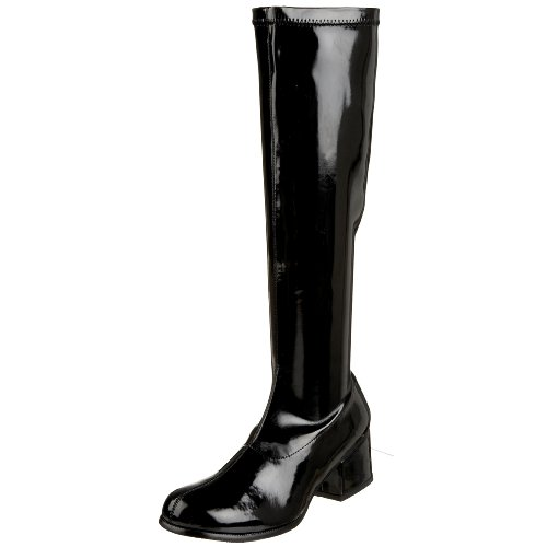 Funtasma by Pleaser Women's Retro-300 Boot - Black Stretc...