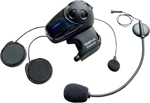 Sena SMH10-11 Motorcycle Bluetooth Headset / Intercom with Universal Microphone Kit (Single) - Bluetooth Helmet Kit