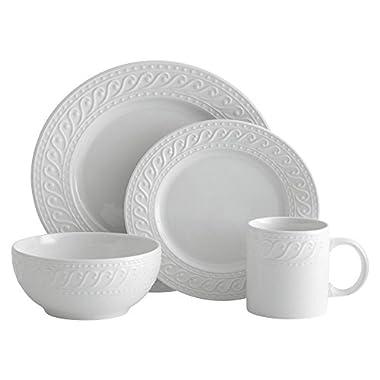 Pfaltzgraff Sylvia 32-Piece Dinnerware Set, Service for 8