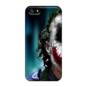 MeSusges Premium Protective Hard Case For Iphone 5/5s- Nice Design - Joker Face