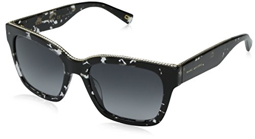 Marc-Jacobs-Womens-Marc163s-Rectangular-Sunglasses-Havana-Black-CrystalDark-Gray-Gradient-53-mm