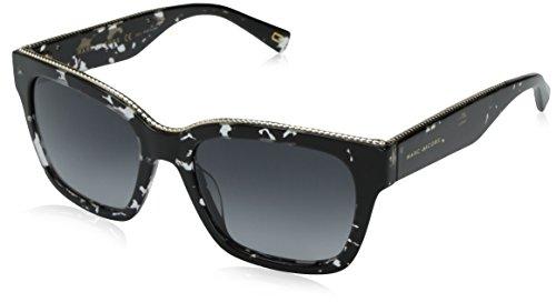 Marc-Jacobs-Womens-Marc163s-Rectangular-Sunglasses-Havana-Black-CrystalDark-Gray-Gradient-53-mm