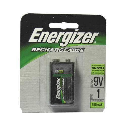 Energizer Nh22nbp Rechargeable Nimh Batteries (9V 1-Pk; 175 Mah)