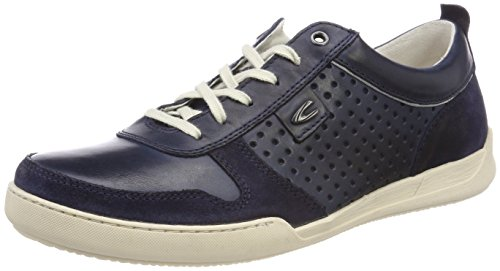 camel active Herren Light 11 Sneaker Blau (Denim)