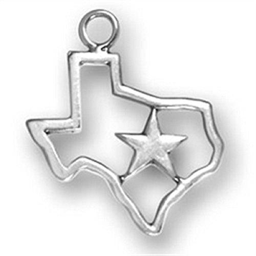Lone Star Pendant (Sterling Silver 30