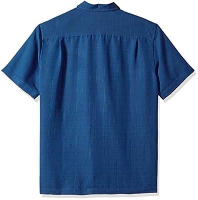Van Heusen Men's Air Grid Short Sleeve Button Down Shirt