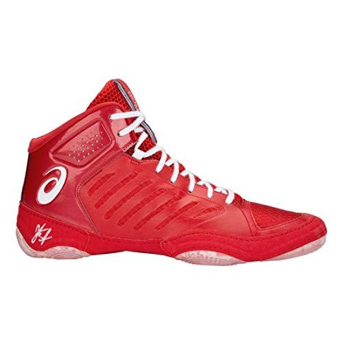 adulte Asics Rouge blanc Chaussures Unisexe Classique Elite Jb Iii 5wZ7S