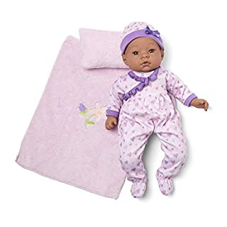 "Madame Alexander 16"" Lavender Amazon Exclusive Baby Doll, Sleeper Set"