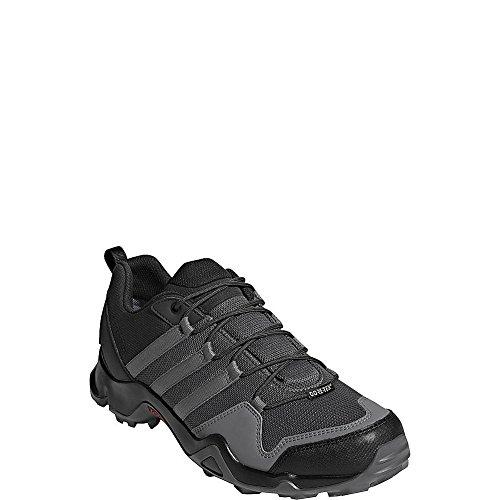 Scarpa Adidas Outdoor Uomo Terrex Ax2r Gtx (8 - Carbonio / Grigio Quattro / Melma Solare)