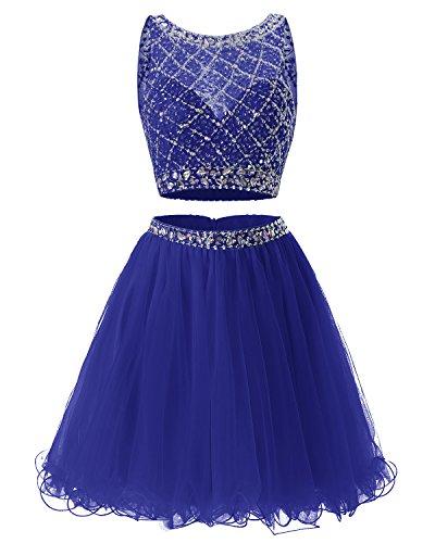 2 Piece Short Dress Cocktail Dress - 4