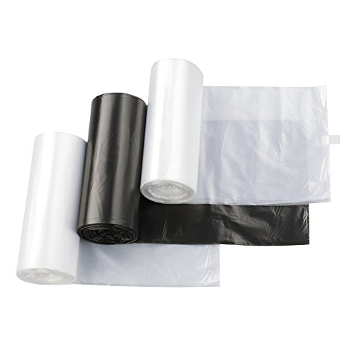 Nicesh 7 Gallon Kitchen Trash Can Liners, 75 Counts, BCW