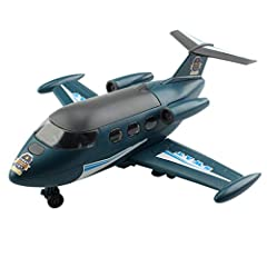 Features:   【Safe material】: Our airplane toys are made of non-toxic and durable ABS plastic with soft edges and curves to ensure long lasting performance and safety of your child. All of toys are tested and meet the highest quality standards...