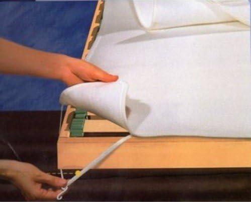 Casatessile Cubierta de Fieltro 1 Cama 120 x 190 cm