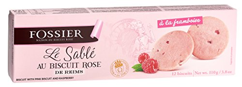 Shortbread Biscuit with Pink Biscuit of Reims ()