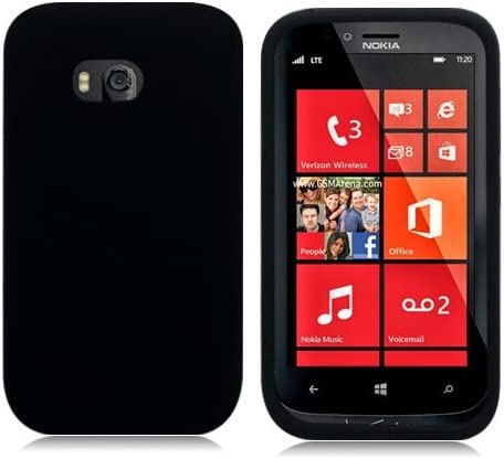 [해외]LF Black Flexible TPU Gel Case Cover Lf Stylus Pen & Wiper Bundle for Verizon Nokia Lumia 822 (TPU Black) / LF Black Flexible TPU Gel Case Cover, Lf Stylus Pen & Wiper Bundle for Verizon Nokia Lumia 822 (TPU Black)