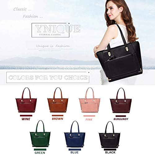 Purses YNIQUE Shoulder for Tote Handbags and Bags Satchel Black Women 5wrqnOwfS