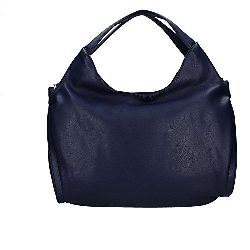 Trussardi Jeans 75B00333 Borsa A Spalla Donna blu UNICA