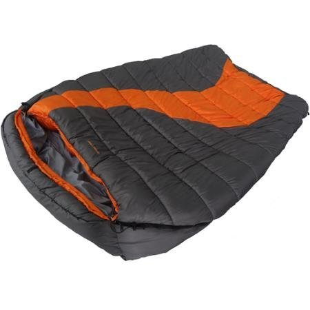 Smooth Ozark Trail 20F degree Cold Weather Double Mummy Sleeping Bag by Ozark Trail