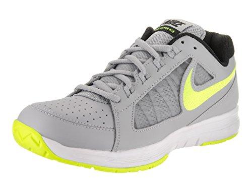 Nike Air Vapor Ace Loup Gris / Volt / Blanc / Noir Chaussure De Tennis 10.5 Hommes Us