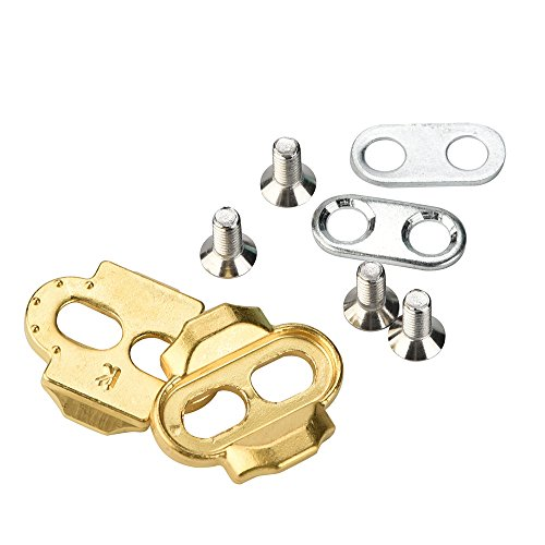 Maikouhai Bicycle Accessories, Premium Brothers Egg Beater Candy Acid Mallet Bicycle Pedals Crank Cleats – Gold