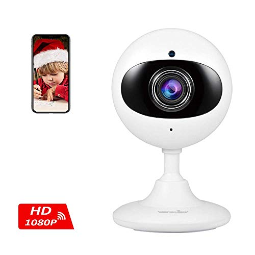 (Wansview Wireless Security Camera, 1080P Home WiFi Surveillance Indoor IP Camera for Baby/Elder/Pet/Nanny Monitor with Night Vision and Two-Way Audio-K3 (White))