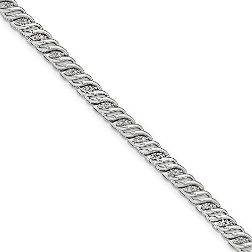 0.5 Ct Diamond Bracelet - 5