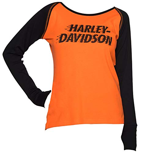 Buy womens long sleeve harley davidson shirts