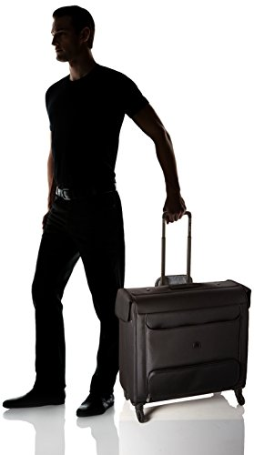Delsey Luggage Chatillon Spinner Trolley Garment Bag, Black by DELSEY Paris (Image #5)