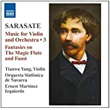 Sarasate: Music for Violin & Orchestra, Vol. 3