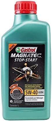 Óleo Lubrificante Castrol Magnatec Stop-Start 5w40 A3/B4 100% sintético