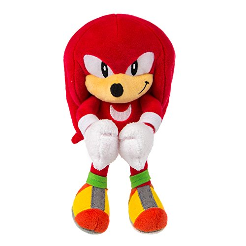 TOMY Sonic Collector Series, Small Plush Classic Knuckles Plush ()