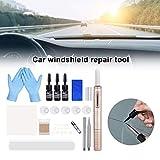 Car Windshield Repair Tool Kit DIY Car Window Tools Cracked Glass Repair Kit