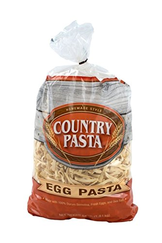 Country Pasta Homemade Style Pasta - Egg , 64-oz bag - Old Fashioned Chicken Noodle Soup