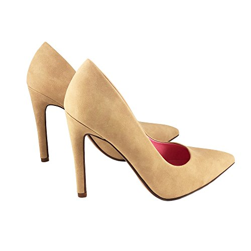 Pointy Delicious Nubuck Sole Velvet Women's Classic Nat Single Pump Toe Cindy ESwOrqS