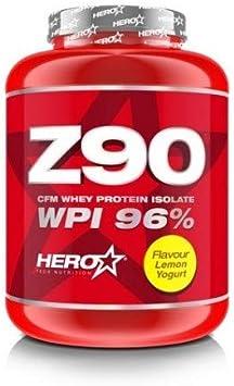 Z90 Cfm Whey Protein Isolate 900 Grs - Hero Tech, LEMON ...