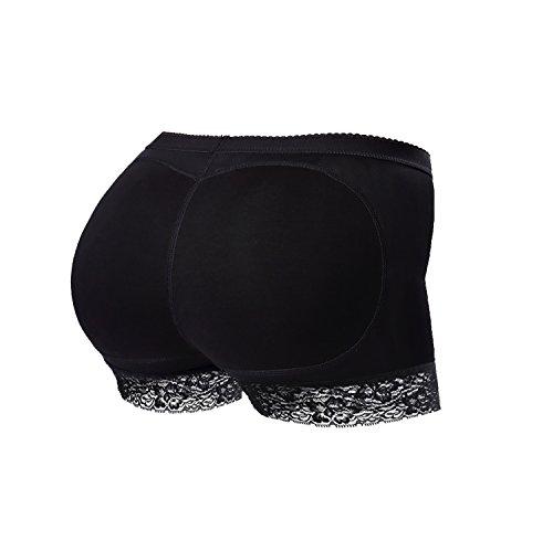 Vinpak Seamless Butt Lifter Padded Panties Lace Underwear - Enhancing Body Shaper for Women (Medium)