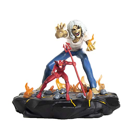"Iron Maiden Collectible 2018 Incendium Legacy of the Beast - Number of the Beast 4"" Eddie Figure"