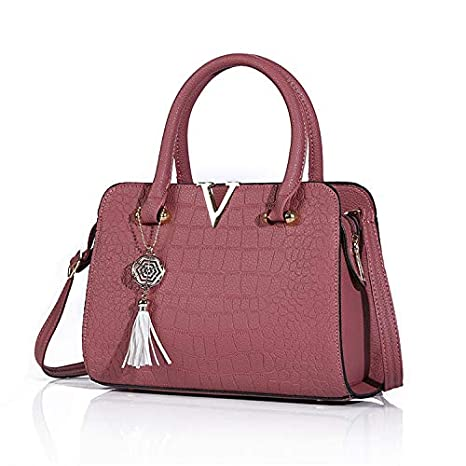 Buy Vio La Fashion Womens Ladies Designer Leather Handbag Tote Shoulder Bag New Faux Bags At Amazon In