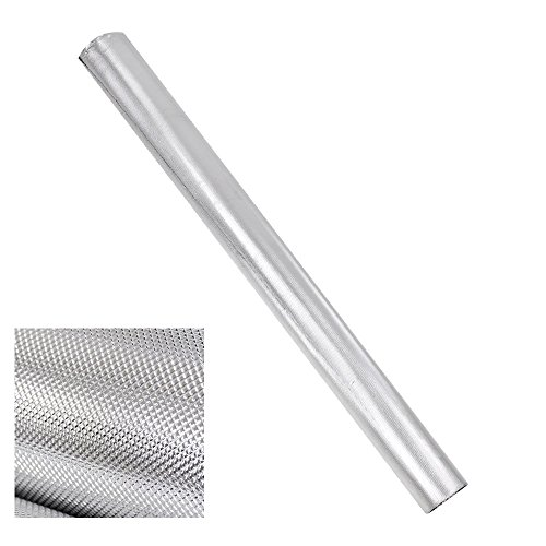 Yescom 50ftx5ft Diamond Silver Reflective