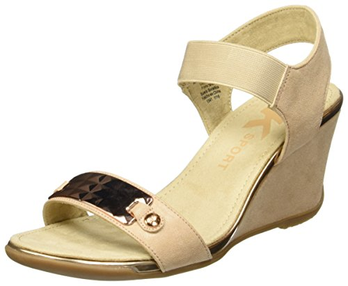 Anne Klein Women's Latasha Fabric - Light Natural - 9 M US
