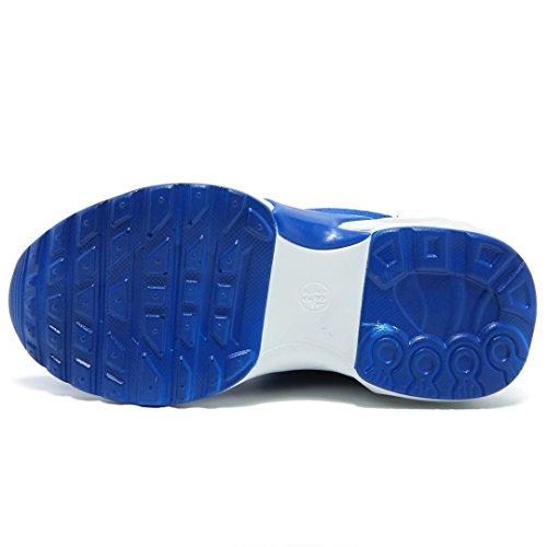 BODATU Kids Boys Running Shoes Comfortable Fashion Light Weight Slip on Cushion(10, Blue) - Image 6