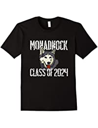 Monadnock Class Of 2024 T Shirt Distressed White Text